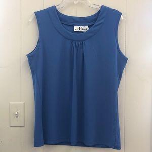 Blue women's blouse